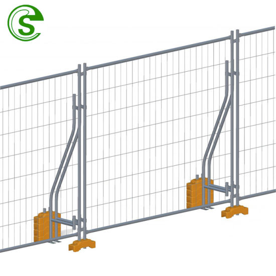 Australia Style Hot Dipped Galvanized Temporary Fence for Construction Site
