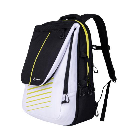 Waterproof and Dust Proof Badminton Racket Bag Double Shoulder Tennis Racket Duffel Bag Tennis Sport Gym Bag