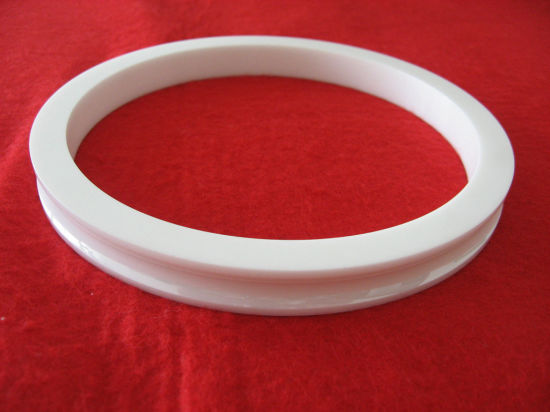 White Zirconia Ceramic Ring Zro2 Washer