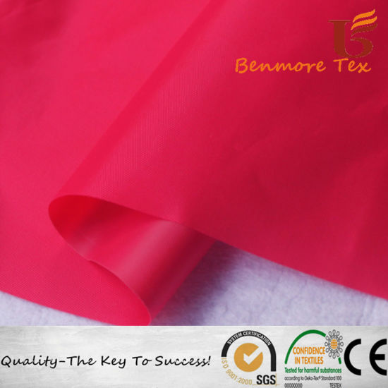 Environmental PVC Coated Polyester Dyed Oxford Fabric for Tent/ Bags pictures & photos