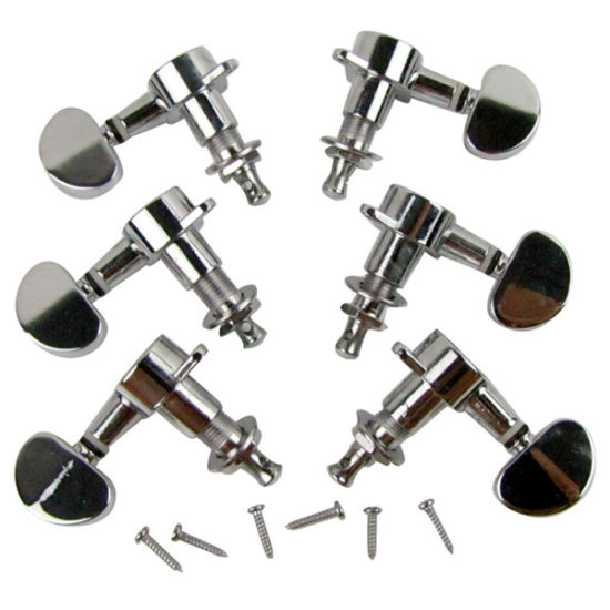 Musiclily 3+3 Sealed Guitar Tuners Tuning Pegs Keys Machine Heads Set pictures & photos