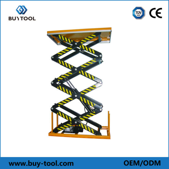 China Factory Made Hydraulic Scissor Lift Tables for Sale