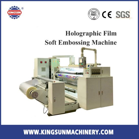 Holographic Film Soft Embossing Machine for Hologram Film