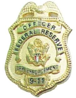 China Gold Plating Alaska Award for Promotion Metal Custom Security Police Badges