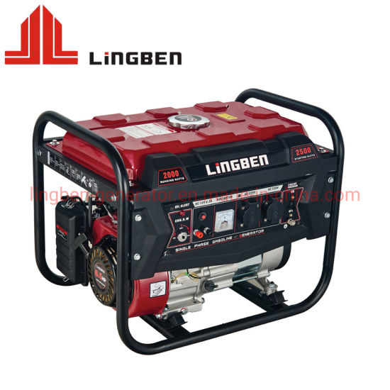 Plastic Panel Powerful Key Start Special Fuel Tank Portable Petrol Generators pictures & photos
