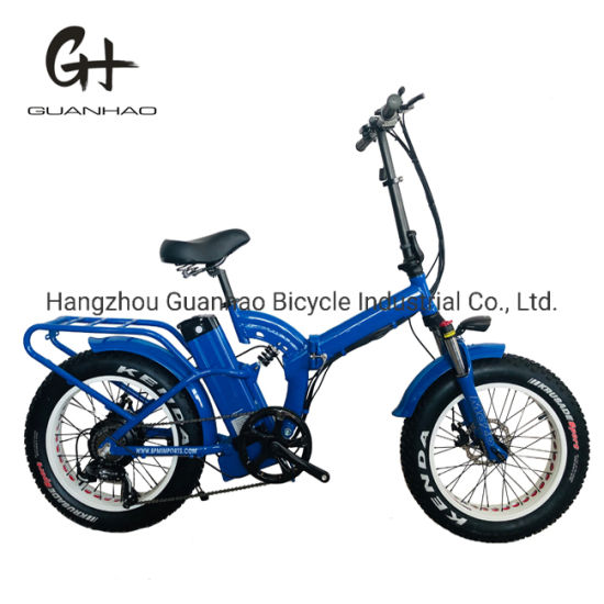 20inch Full Suspension 8fun 1000W 21ah Fat Tire Electric Bicycle