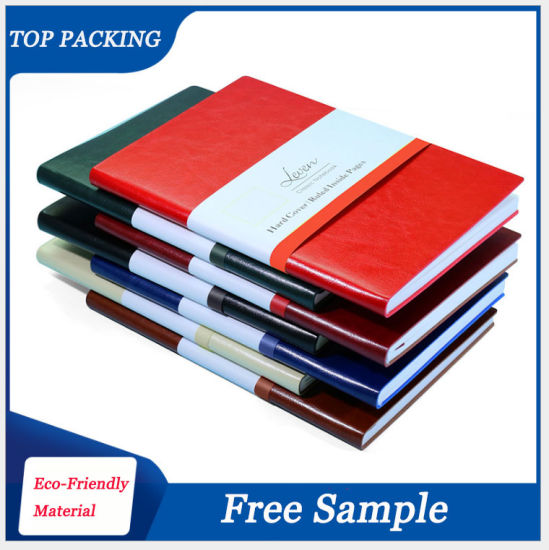 OEM/ODM Factory Costom A4 Leather Journal Business Planner Meeting Organizer Diary Notebook