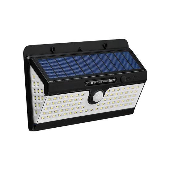 High Quality LED Solar PIR Wall Light Garden Porch Garage Emergency Lamps
