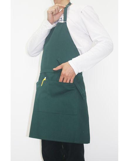 Manufacturer Restaurant Bakery Hotel Kitchen Polyester Cotton Twill Bib Apron