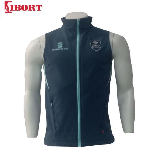 Aibort OEM Sleeveless Softshell Winter Jacket for Man (jacket-10)