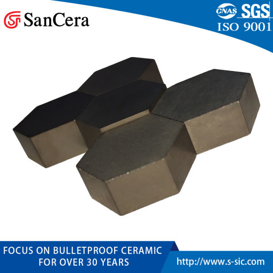 Sic Ceramics Bullet-Proof Ceramics with High Strength and High Hardness pictures & photos