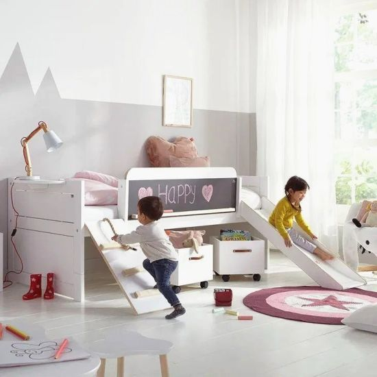 China New Design Bedroom Sets Toddler Bed Kids Bed Twin Art Play