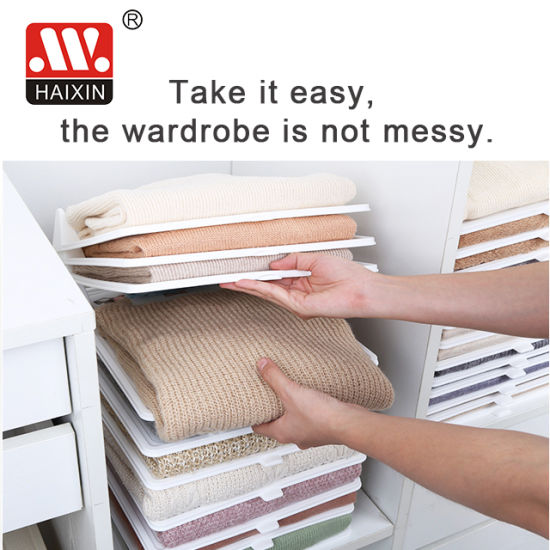 Haixing Newest Item Clothes Folding Board for Shirts Storage