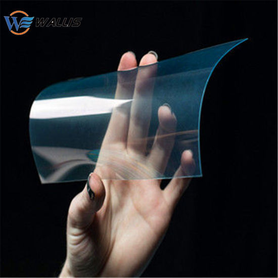 1.5mm 0.007inch Thick Transparent Clear Flexible Scratch-Resistant Goggles Polycarbonate PC Sheet with Anti-Fog Lens