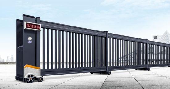 New Style Electric Aluminum Alloy Telescopic Gate