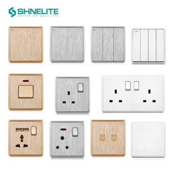12 Years Experience Home Accessories British Standard Wall Light Switch