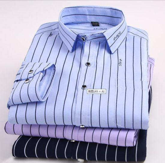 Men's Long Sleeve Shirt Fashion Business Shirt
