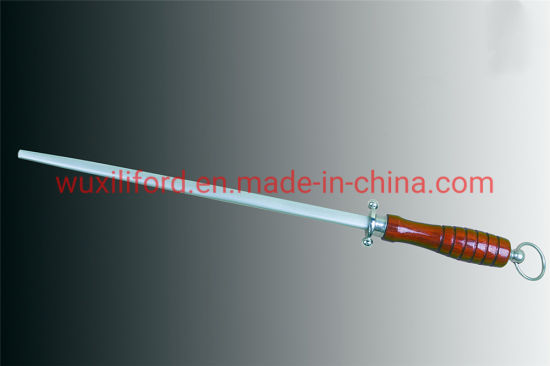 China Factory Direct Sale Honing Steel Knife Sharpening 10-Inch Rod