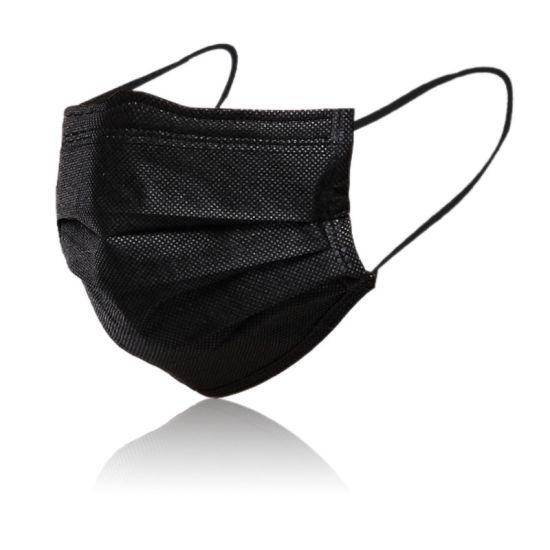 Wholesale in Stock Face Shield 3 Ply Non-Woven Disposable Face Masks
