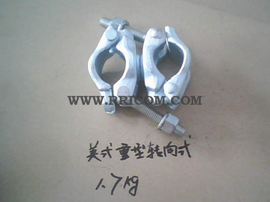 Drop Forged America Heavy Type Scaffold Swivel Couplers for Construction