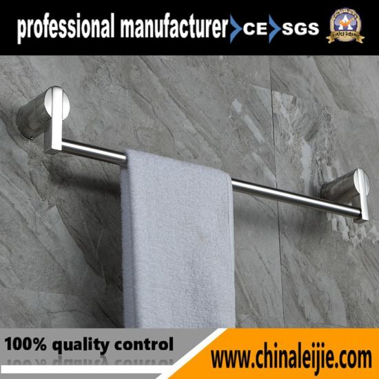 Elegant Stainless Steel Towel Bar for Bathroom (LJ55002) pictures & photos
