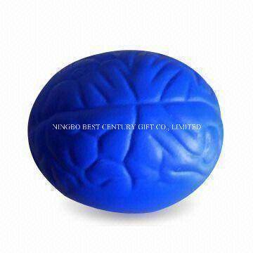 2020 Wholesale Toys PU Squeeze Stress Brain Design Stress Balls