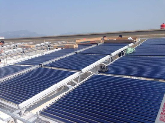 Green Energy Solar Water Heater Project pictures & photos