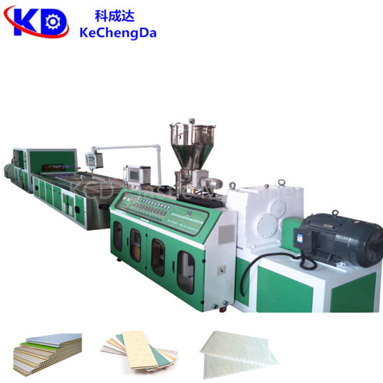 PVC Wall Panel Extruder Production Line