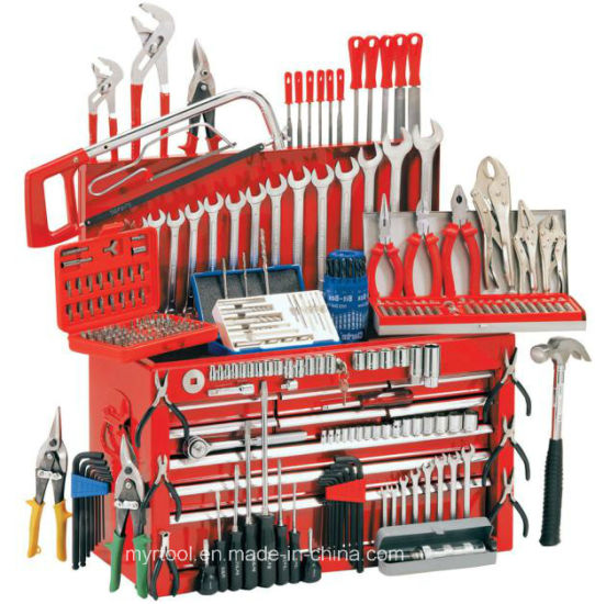 Hot Selling -6 Drawers Comprehensive Trolley Tools Set pictures & photos