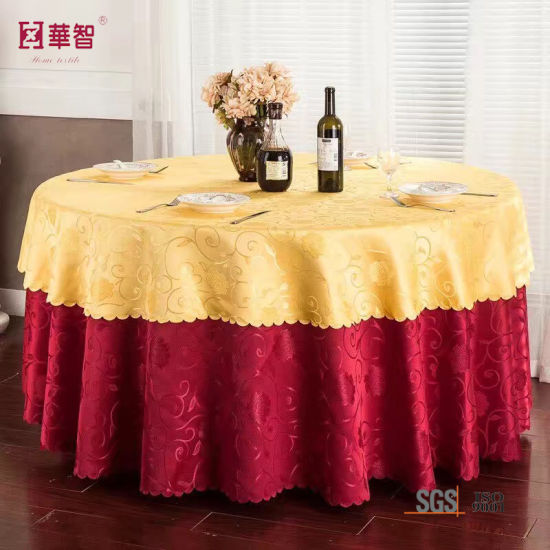Plain Banquet Table Cover for Retaurant Use pictures & photos