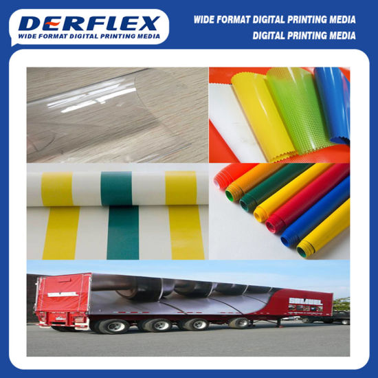 Printing Truck Roof Banner PVC Coated Fabric Ceiling Tarpaulin