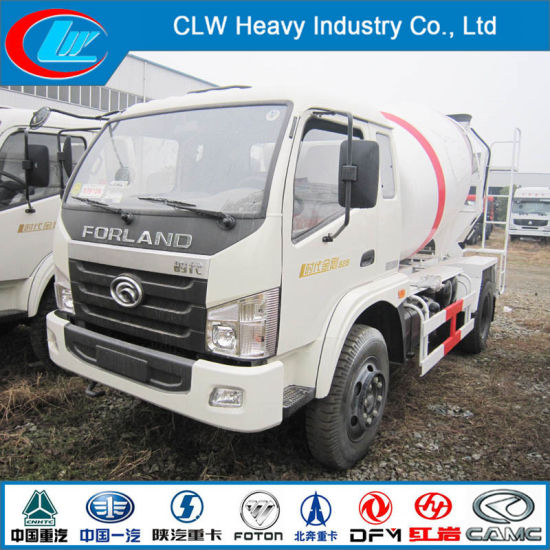 4cbm 6 Wheels Concrete Mixer Concrete Truck for Sale pictures & photos