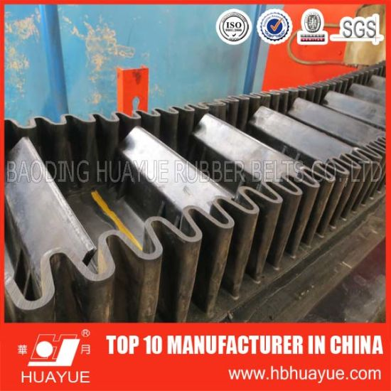 Sidewall Cleat Conveyor Belt 90 Degree pictures & photos