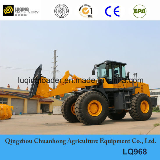 Heavy Duty 6 T Large Wheel Loader (LQ968) pictures & photos