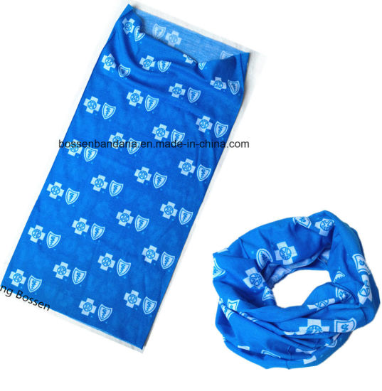 China Factory OEM Produce Polyester Customized Logo Printed Promotional Neck Tube Scarf pictures & photos