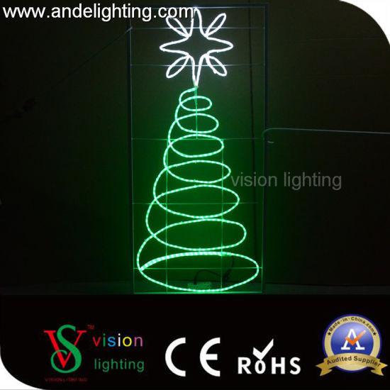 Outdoor LED Christmas Light Street Motif Lights