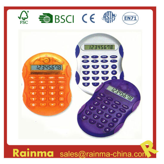 Color Mini Thin Simple Calculator for Kids