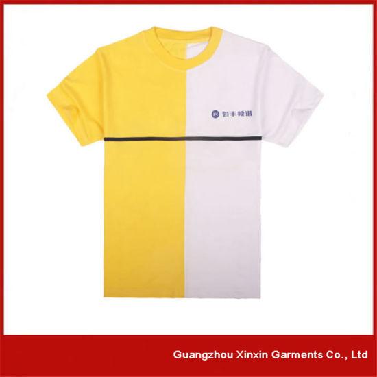Custom Made Good Quality Cotton T-Shirts for Men (R15)