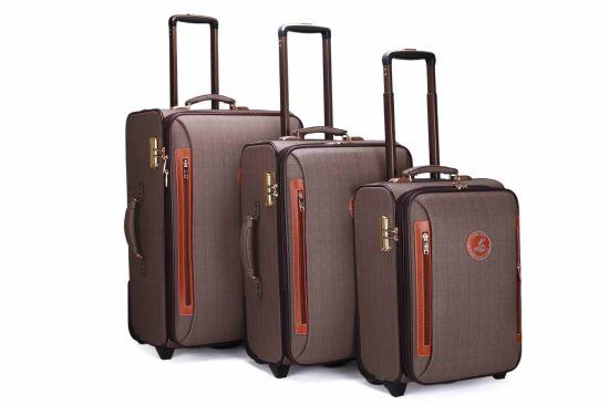 7111dfcb6246 China PU Trolley Bag Luggage Trolley Case Suitcase Jb058 - China ...