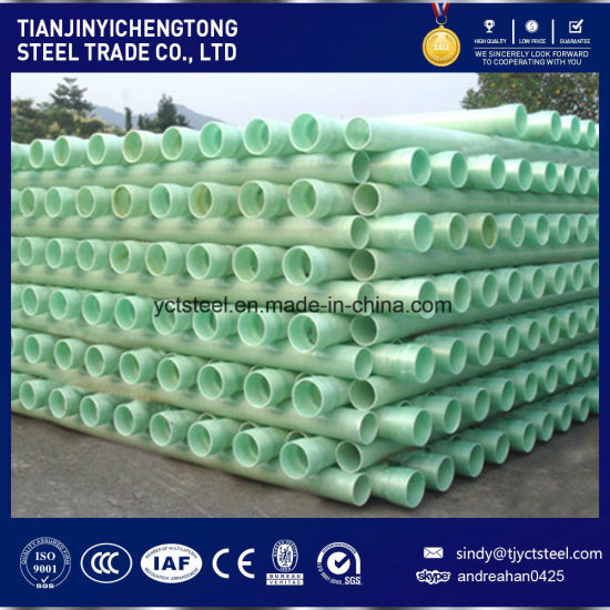 Large Ready Stock for FRP Pipe GRP Pipe with Competitive Price