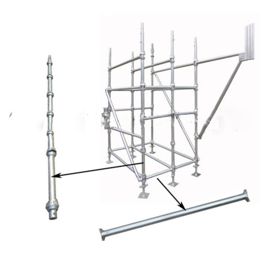 china steel cuplock scaffolding system for concrete