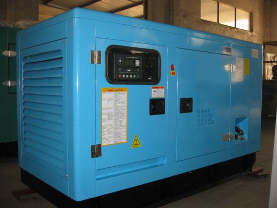 China 30kw/37 5kVA Yanmar Soundproof Diesel Generator (HF30Y2