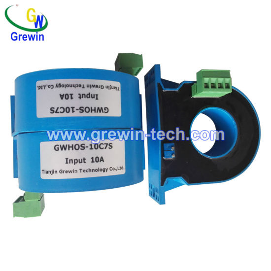 8A Norminal Current 0.5 Accuracy Closed Hall Sensor for DC Current Measurement