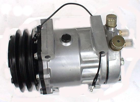 7seu16c Series Electric Car Air Conditioning Mini Compressor