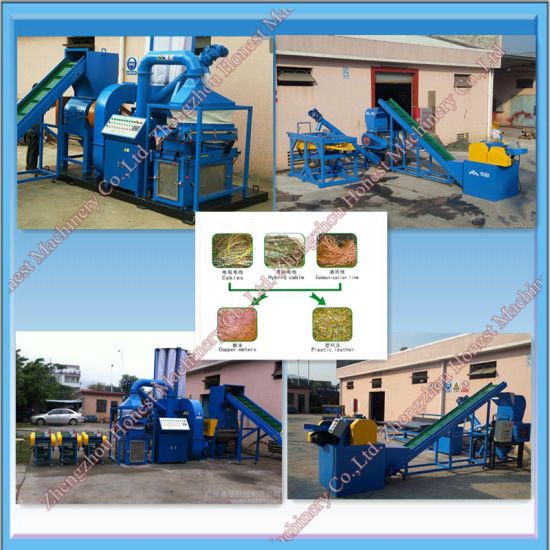 China Scrap Copper Wire Recycling Machine for Sale - China Wire ...