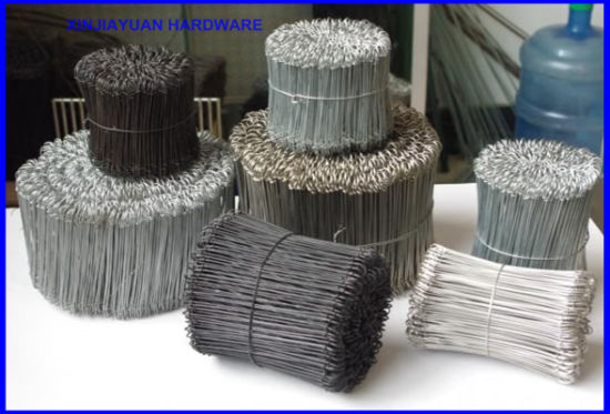 Supply Galvanized Powder Painted or Black Annealed Loop Tie Wire