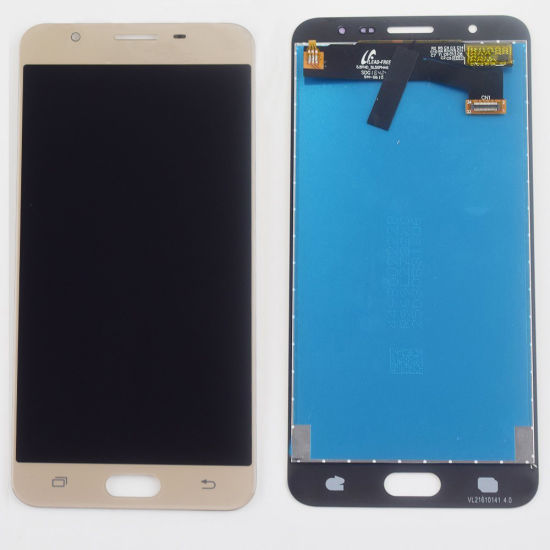 China Mobile Phone LCD for Samsung J7 Prime LCD Screen J7
