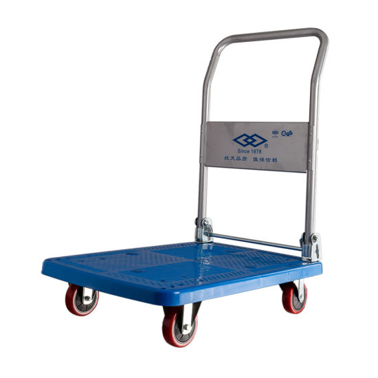 Palstic Platform Hand Truck Hospital Transport Cart