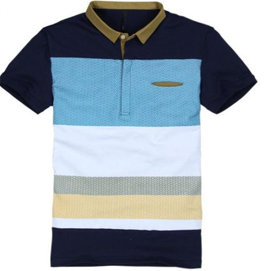 Delicate Top Quanlity Polo Tshirt for Man (PAN-00190)