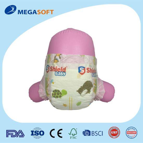 Cloth-Like Elastic Waitband Classic Velcro Baby Diaper